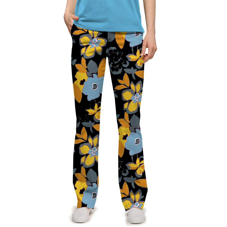 Loudmouth Golf Par Three Pants - Tiger Lily