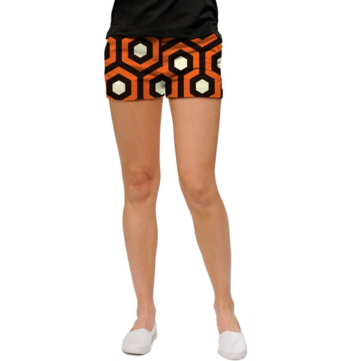 Loudmouth Golf Womens Mini Shorts - Attababe Image