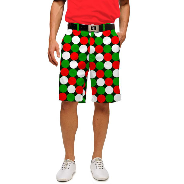 Loudmouth Golf Shorts - Jingle Balls