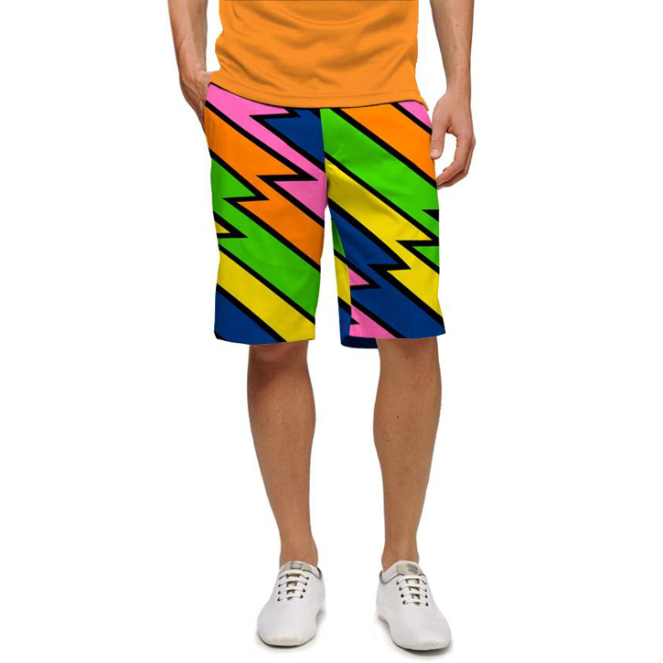 Loudmouth Golf Shorts - Lightening Rod