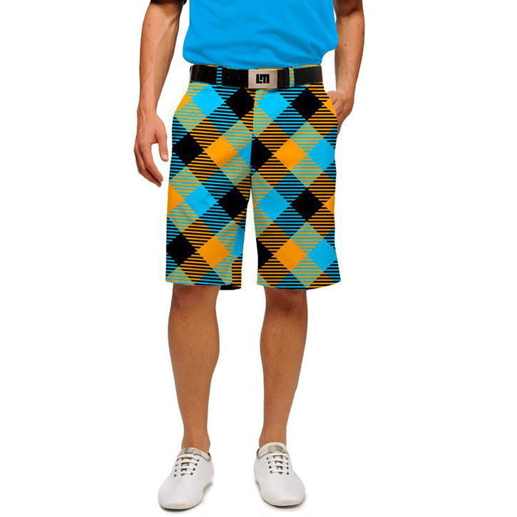 Loudmouth Golf Shorts - Microwave
