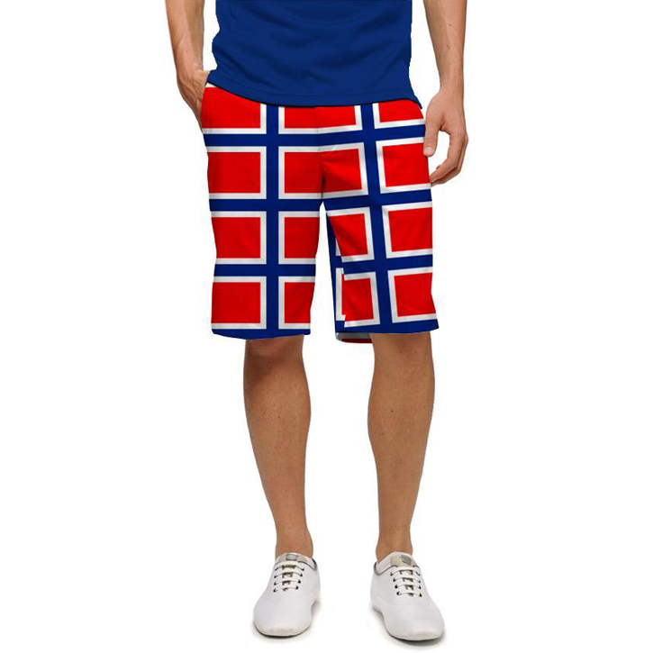 Loudmouth Golf Shorts - Norway Flag