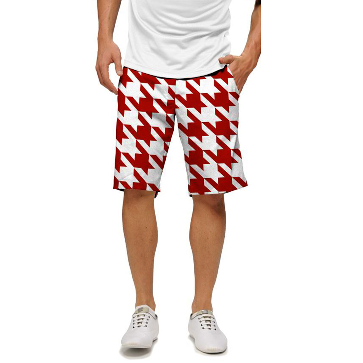 Loudmouth Golf Shorts - Red Tooth Image