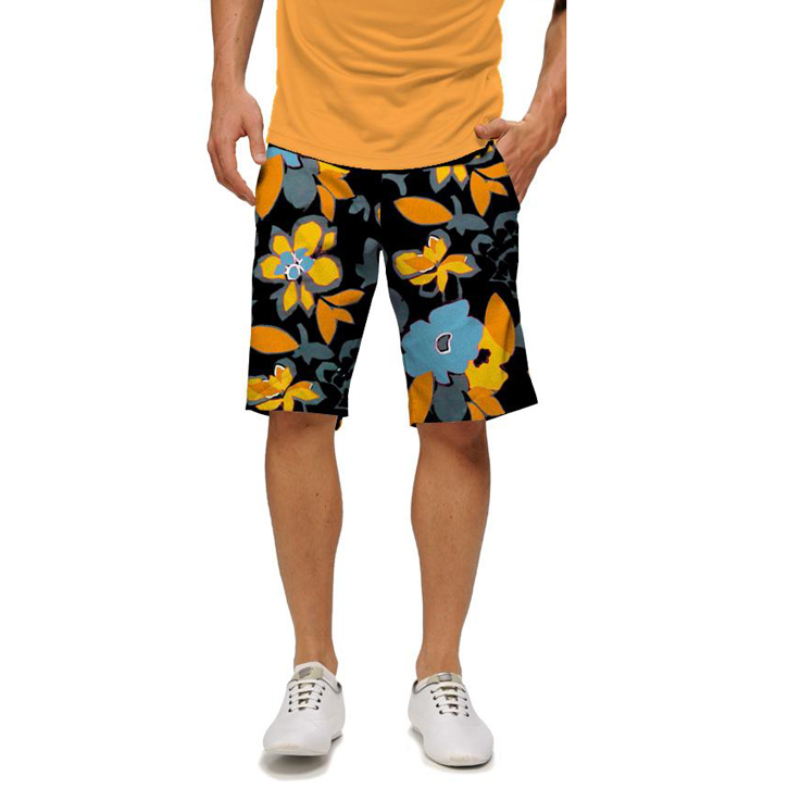 Image of Loudmouth Golf Shorts - Tiger Lily