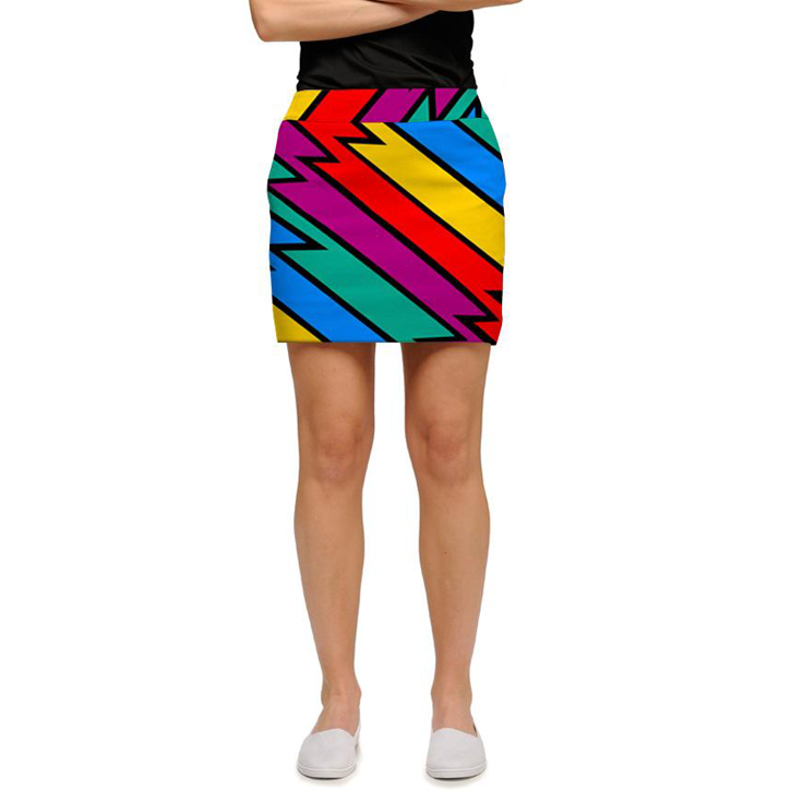 Loudmouth Golf Skort - Captain Thunderbolt