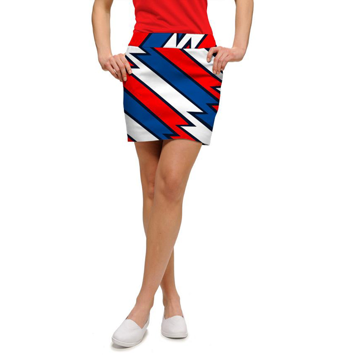 Loudmouth Golf Skort - Captain USA