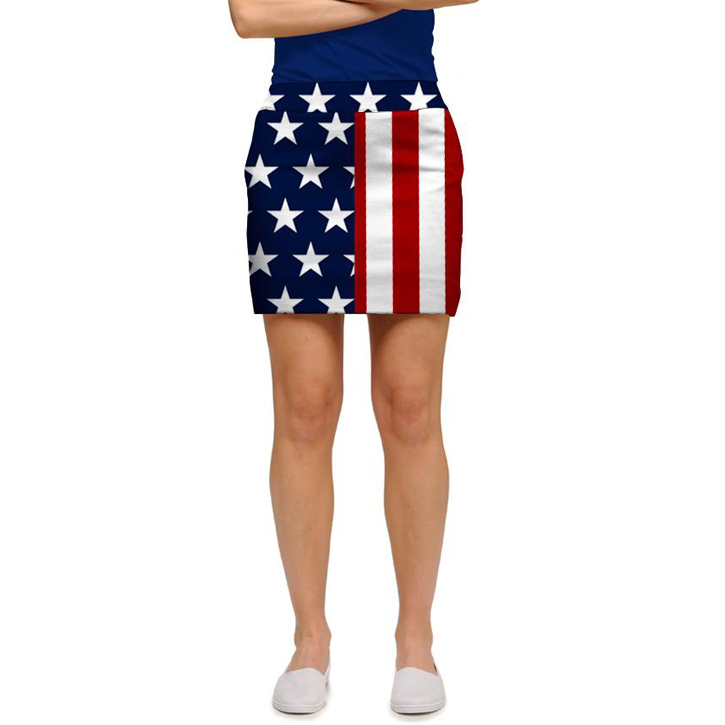 Loudmouth Golf Skort - Stars & Stripes