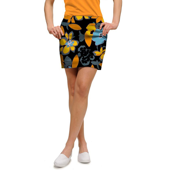 Loudmouth Golf Skort - Tiger Lily