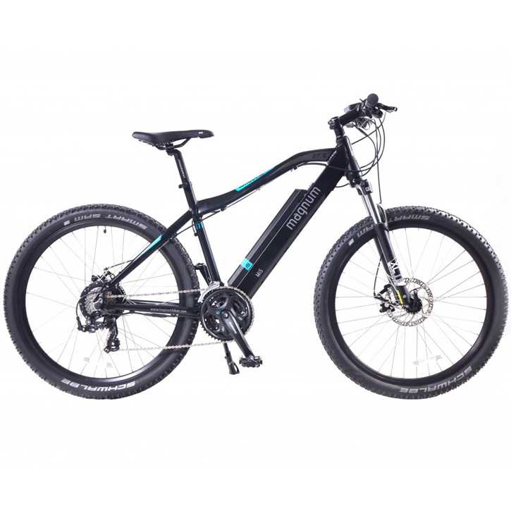 2019 Magnum Mi5 Electric Mountain Bike - Black