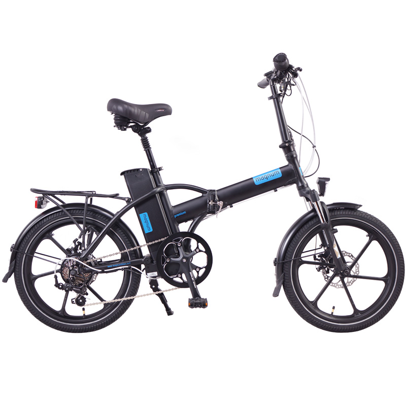 2019 Magnum Premium 48v Folding Electric Bike - Black