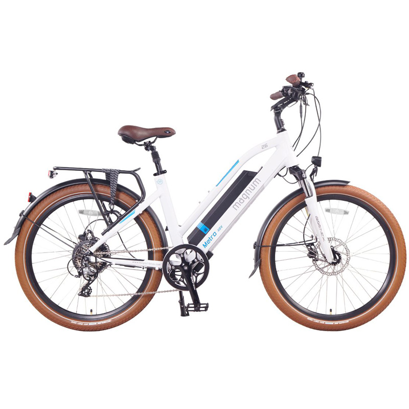 2019 Magnum Metro Electric Bike - White