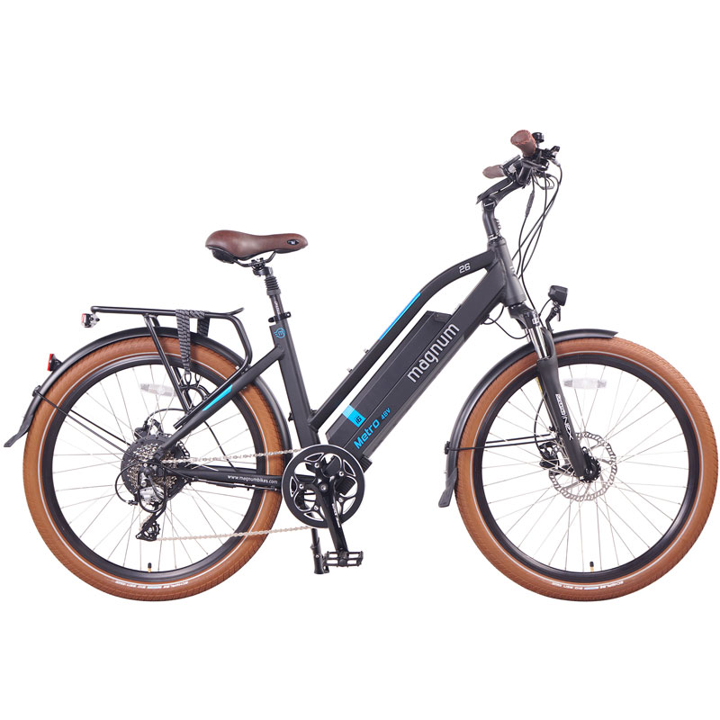 2019 Magnum Metro Electric Bike - Matte Black