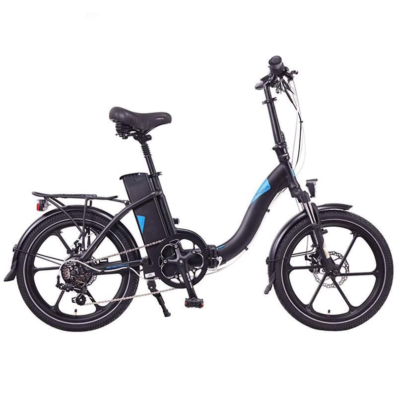 2019 Magnum Premium 48v Folding Step Thru Electric Bike - Black