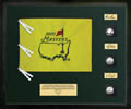 Masters Champions    3 Autographed Tournament Used Golf Balls