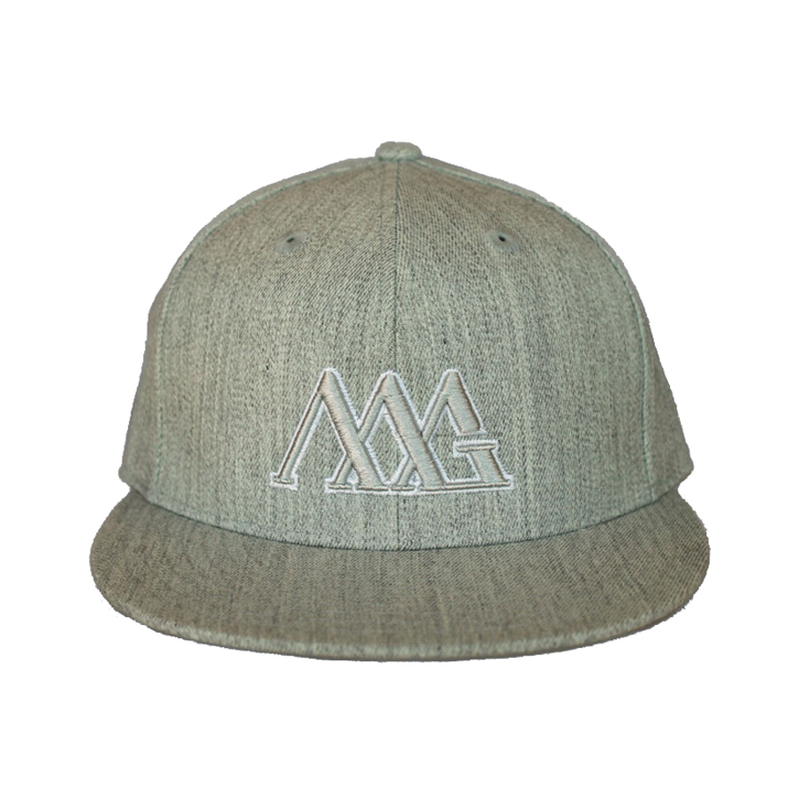 Matte Grey Iconoline Reverse Hat - Grey
