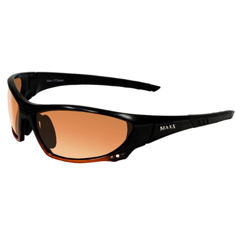 Maxx HD 17 Sunglasses - Black/Orange