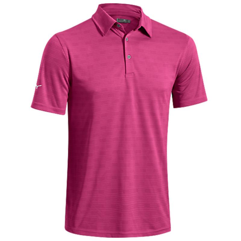 2016 Mizuno Texture Polo Shirt - Magenta