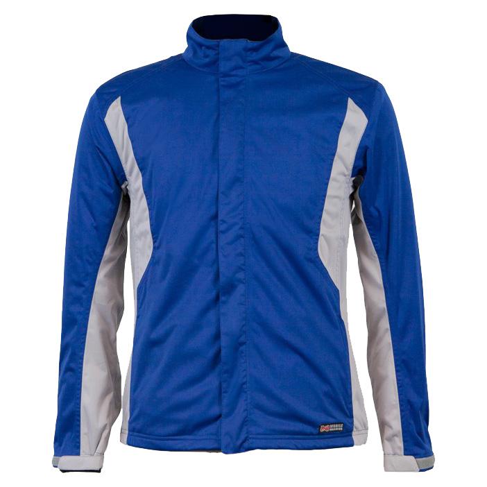 Mobile Warming Balmore Heated Golf Rain Jacket - Mens Blue
