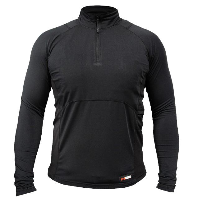 Mobile Warming Longmen Heated Shirt - Mens Black
