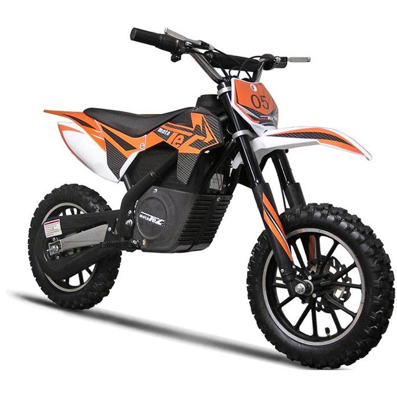 MotoTec 24v Electric Dirt Bike 500w - Orange/Black