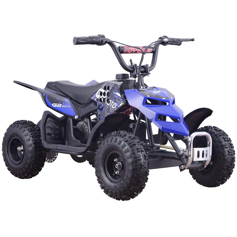 MotoTec 24v 250w Kids ATV Mini Monster v1 - Blue