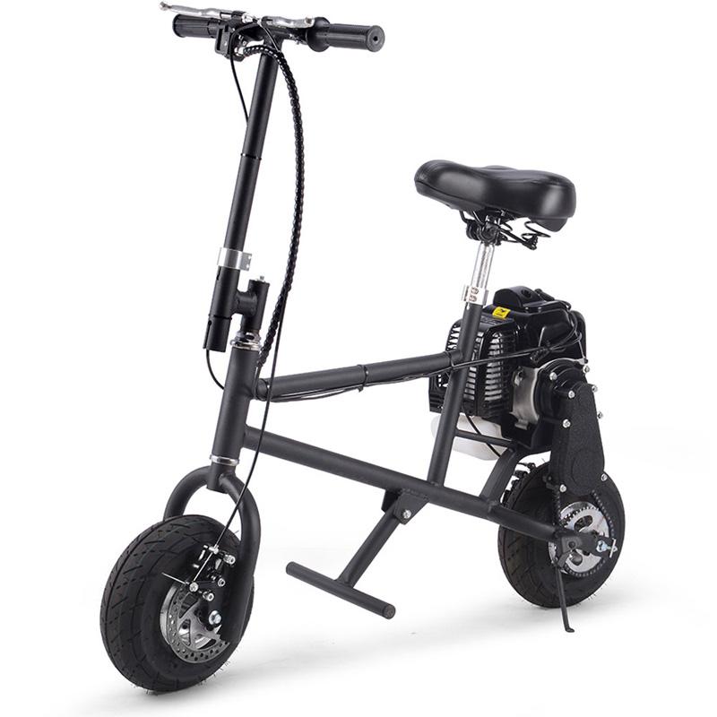 Mototec 49cc Gas Mini Bike - Black
