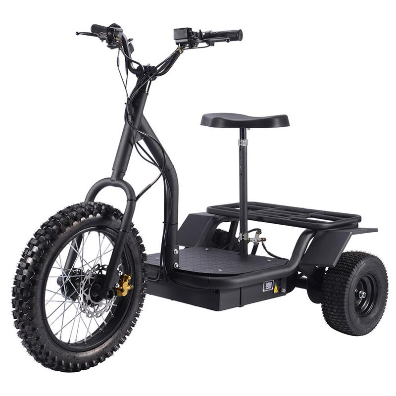 Mototec 48v 1200w Electric All Terrain Trike
