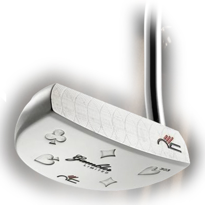 Never Compromise Gambler Series Straight Putter