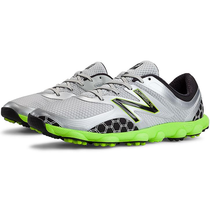 New Balance Minimus Sport Golf Shoes - Mens Grey/Green