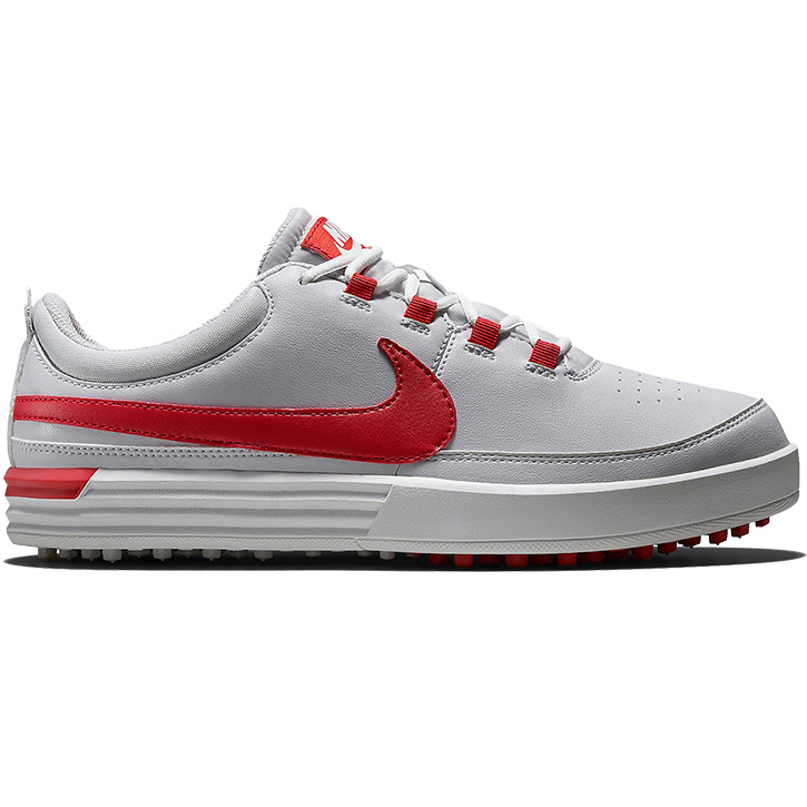 Nike VT Golf Shoes - Junior White/Red