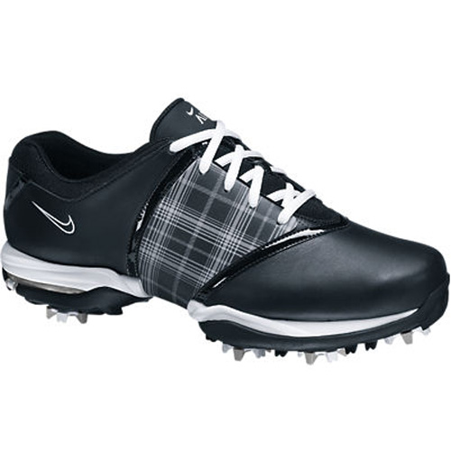 Nike 2013 Air Embellish Golf Shoes - Womens Black/White Image