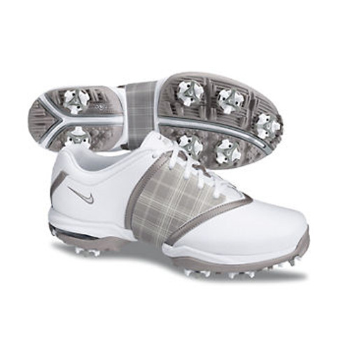 Nike 2013 Air Embellish Golf Shoes - Womens White/Silver