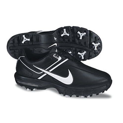 Nike 2013 Air Rival Golf Shoes - Mens Black/White