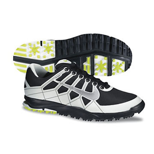 Nike 2013 Air Range WP Golf Shoes - Mens Anthracite/Silver/White Image
