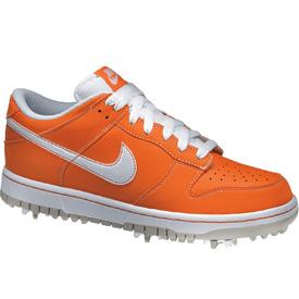 Nike Dunk Golf Shoes Orange