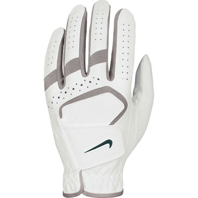 Nike 2013 Dura Feel Womens Golf Glove - White