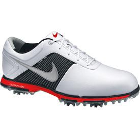 quality design 3b763 d0bc3 Nike Lunar Control Golf Shoes - Mens WhiteSilverRed at InTheHoleGolf.com .  ...