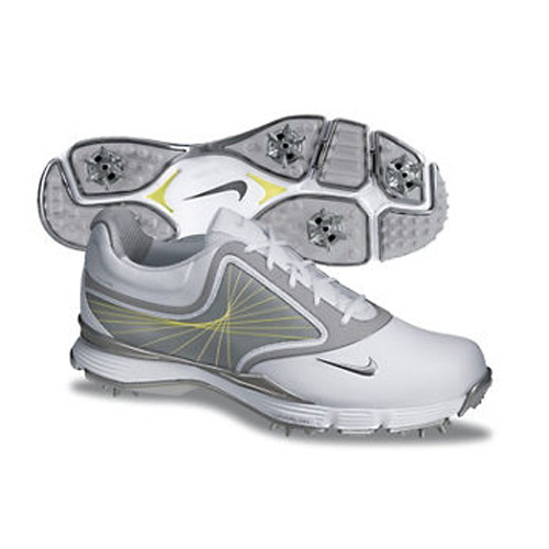 Image of Nike 2013 Lunar Links Golf Shoes - Womens White/Grey