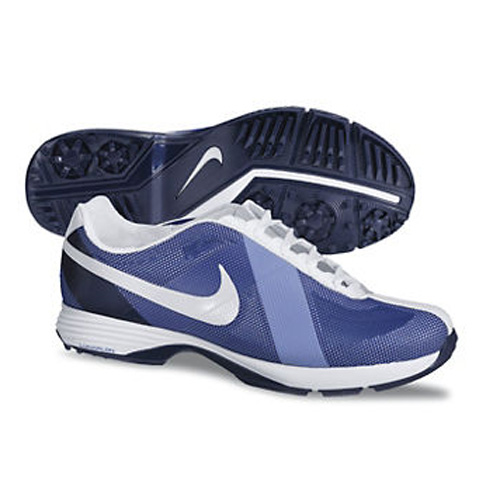 Image of Nike 2013 Lunar Summer Lite Golf Shoes - Womens Blue/Violet