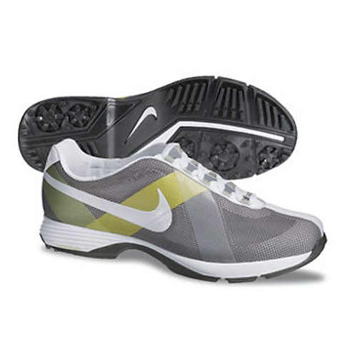 online store f616d a6972 Nike 2013 Lunar Summer Lite Golf Shoes - Womens Grey White Yellow at  InTheHoleGolf.com