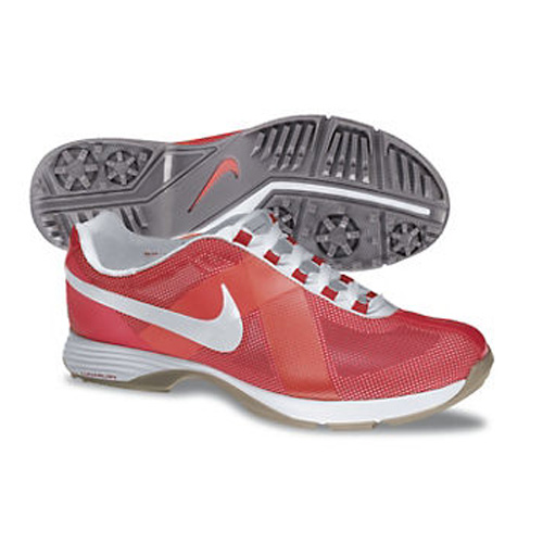 Nike 2013 Lunar Summer Lite Golf Shoes - Womens Sunburst/Mango Image