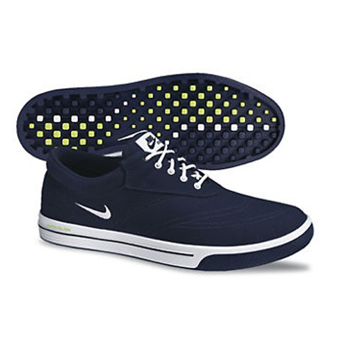 Image of Nike 2013 Lunar Swingtip Golf Shoes - Mens Blackened Blue/White