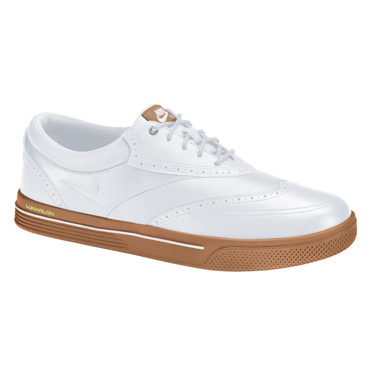 nike 2013 lunar swingtip golf shoes mens leather white
