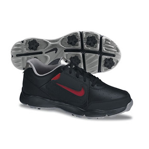 Nike 2013 Remix Junior Golf Shoes - Black/Silver