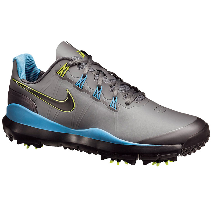 Nike Tw 14 Golf Shoes Grey Blue Black At Intheholegolf Com