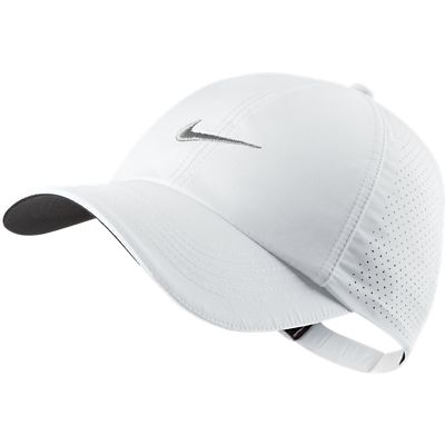 Nike Womens Performance Cap - White at InTheHoleGolf.com 2fb96960979