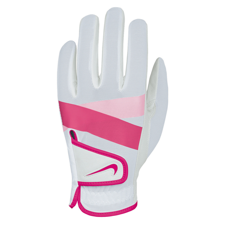 Nike 2013 Womens Summerlite Golf Gloves - White/Pink