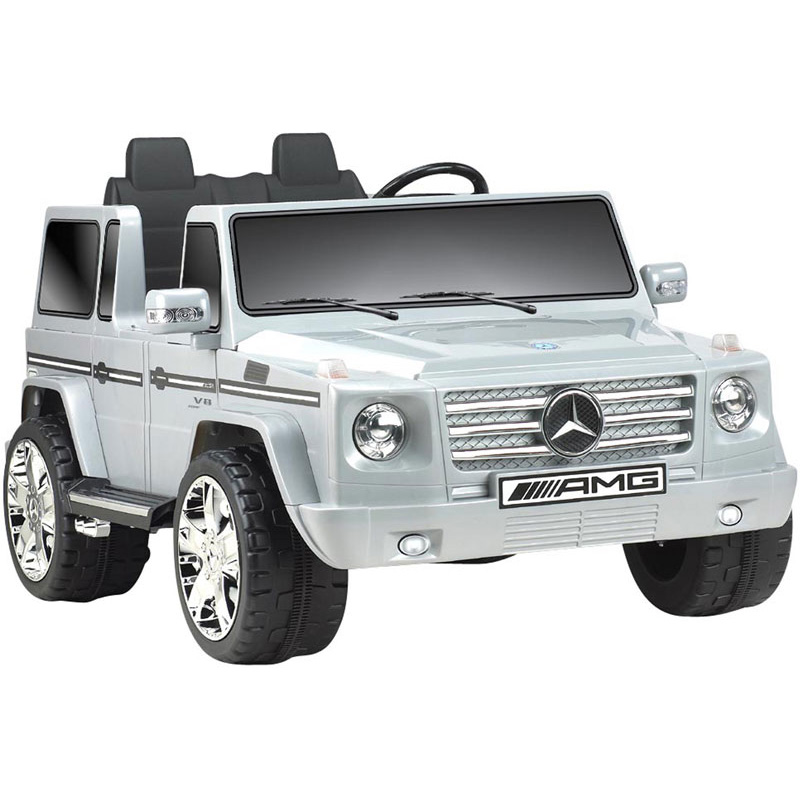 NPL Mercedes Benz G55 12v Kids Ride-On Car - Gray