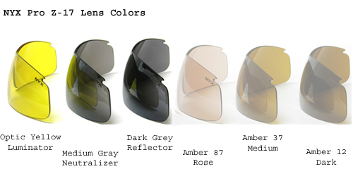 NYX Lens Colors