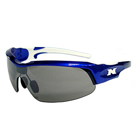 NYX Pro Z17 Sunglasses - Blue Frame White Logo